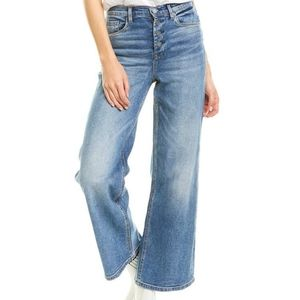 Blank NYC Chrystie high rise crop wide leg Jeans